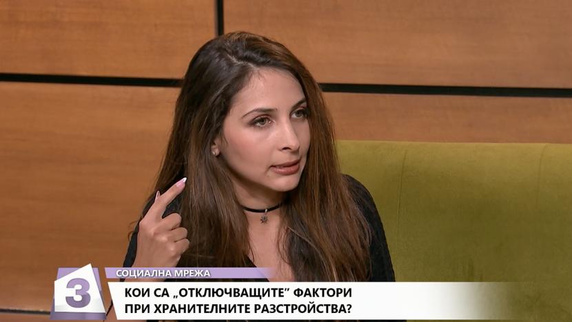 """Любомира Манчева в предаването """"Социална мрежа"""""""